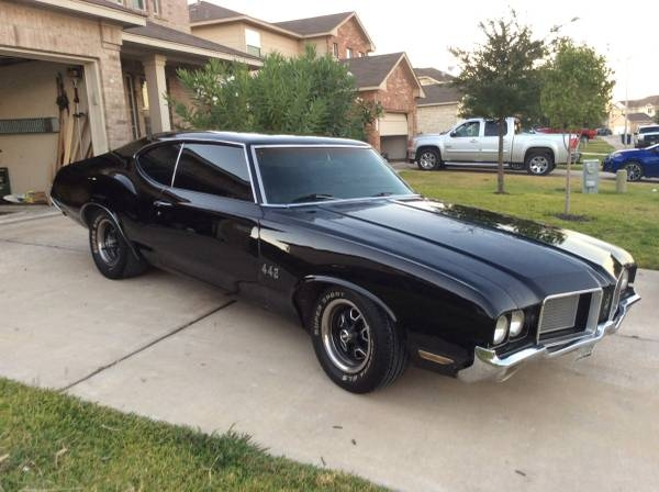 Oldsmobile Cutlass Coupe 1972