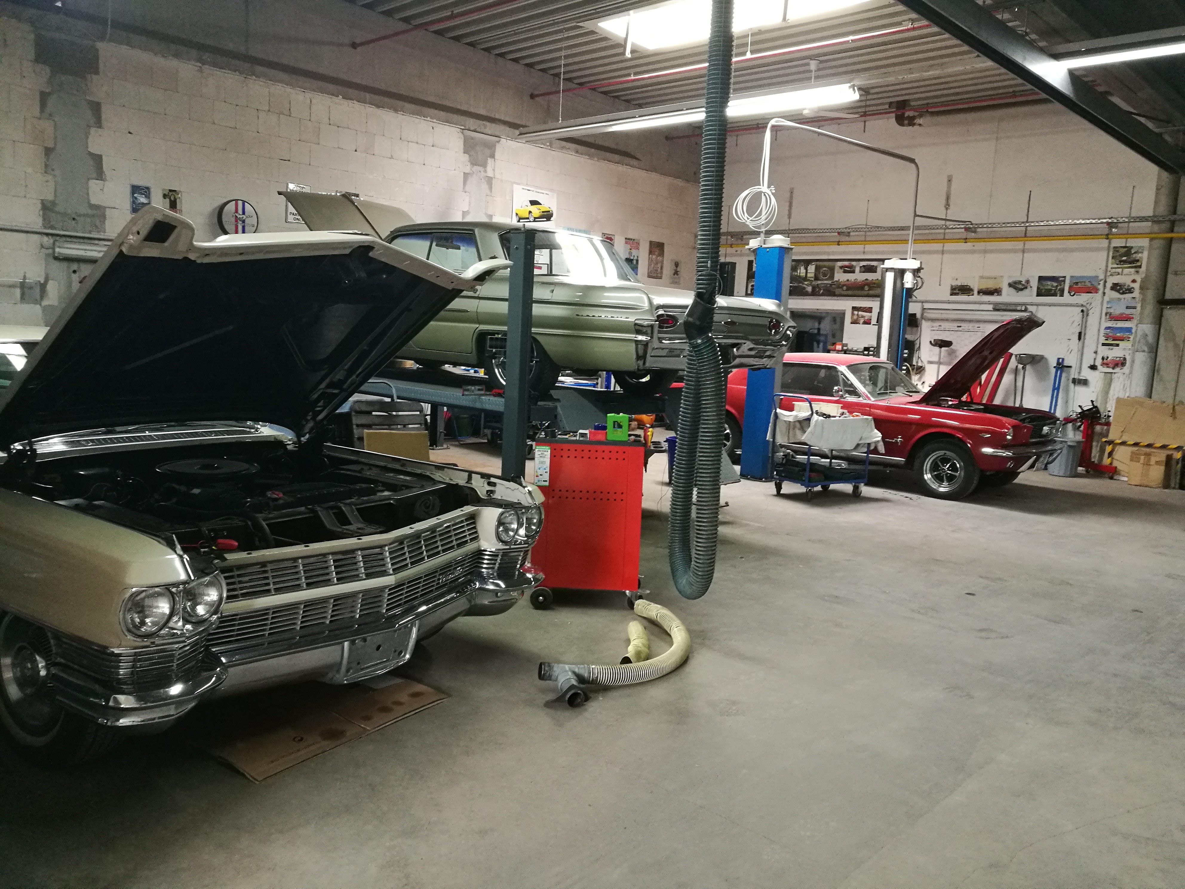 Precious Cars Berlin Werkstatt