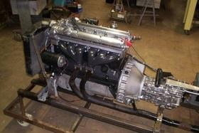 Jaguar XK 120 Motor
