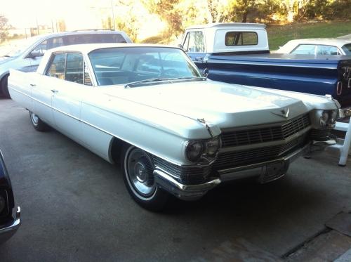Cadillac 62 Sedan 4-Window V8 429