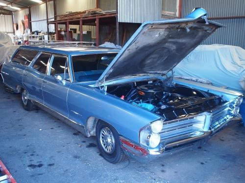 Pontiac Bonneville Safari Station Wagon V8 389cui,1965