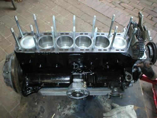 Nochmal Motorzusammenbau