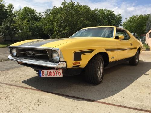 Ford Mustang Hardtop Coupé 1971