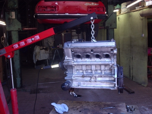 Motorausbau